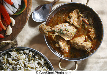 Chettinad chicken from Andhra - Chettinad chiken is a spicy ...