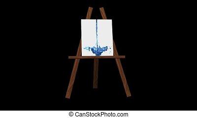 chevalet, art