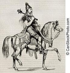 chevalier, frankish