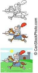 chevalier, horse-collection, équitation