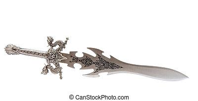 chevalier, jouet, épée