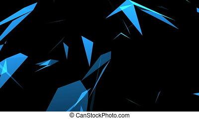 chevaucher, triangles
