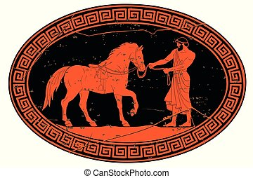 chevaux, diomedes., abducts, hercule
