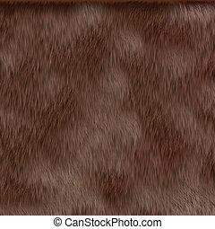 cheveux, brun, texture