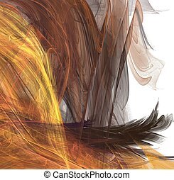 cheveux, fractal