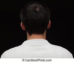 cheveux, gris