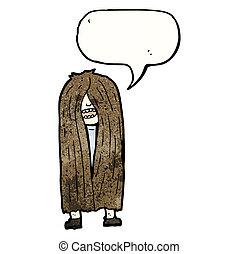 cheveux, hippie, long