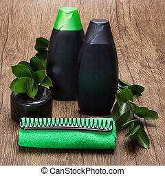 cheveux, naturel, produits, soin beauté