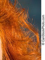 cheveux, rouges