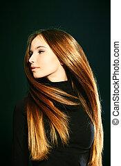 cheveux, vibrant
