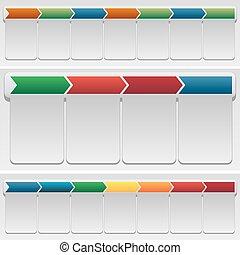 Chevron Chart Set