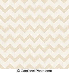 chevron, modèle, seamless, beige
