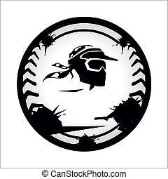 Chevron Paintball - Branding corporate logo isolated on ...