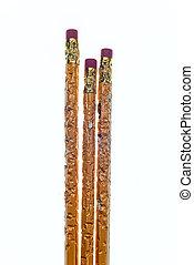 Chewed Pencils 2