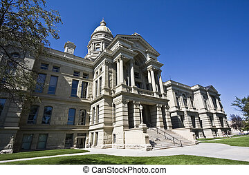 Cheyenne, Wyoming - State Capitol - State Capitol of Wyoming...