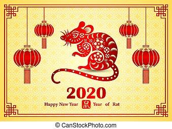 chińczyk, 2020, nowy rok