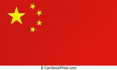 chińczyk, screen., alfa, bandera, channel., zielona firanka...