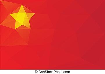 chińska bandera