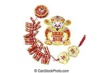 chiński nowy rok, ozdoby