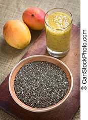 Chia Seeds (Lat. Salvia Hispanica) - Chia seeds (lat. Salvia...