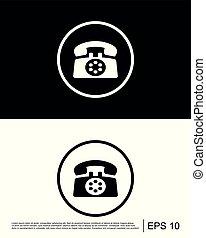 chiamata, contatto, telefono, ci, icona