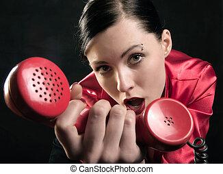 chiamata, lei