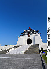 Chiang kai-shek memorial hall in taiwan