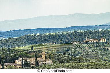 Chianti in Tuscany, Italy
