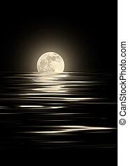 chiaro di luna, dorato