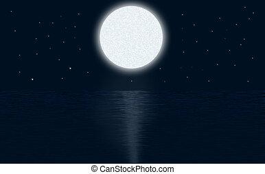 chiaro di luna, tema