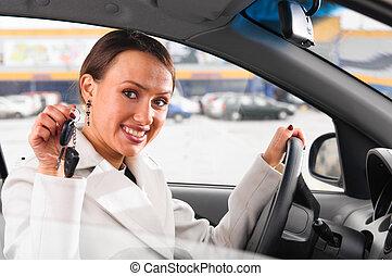 chiavi, automobile, nuovo