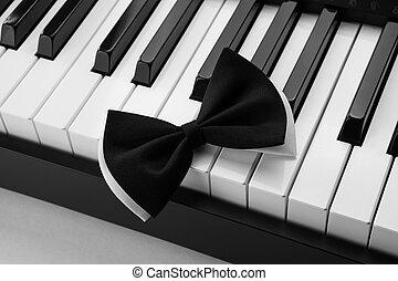 chiavi, pianoforte, arco