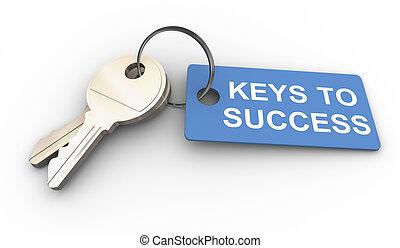 chiavi, successo