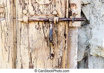 Cancello chiavistello ferro arrugginito esthampton for Piani di costruzione brownstone