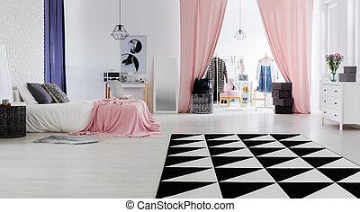 Chic and modern interior design