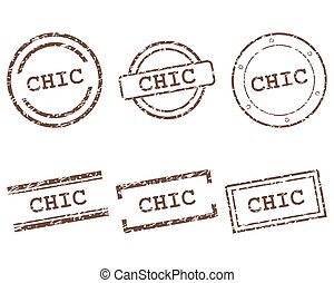 Chic stamps