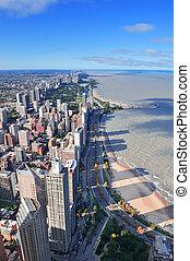 Chicago aerial