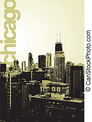 Chicago alternative skyline - An alternative, fresh view of...