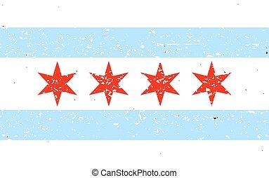 chicago, bandera