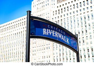 Chicago city by day