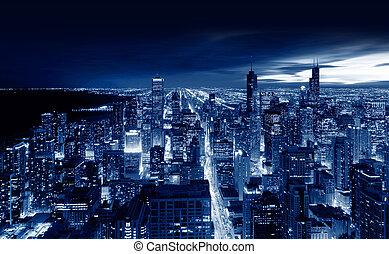 Chicago City, Chicago, illinois, USA