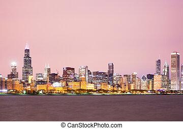 chicago, cityscape