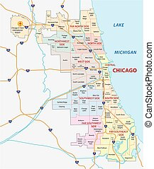 chicago community map