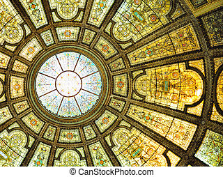 Chicago Cultural Center interior
