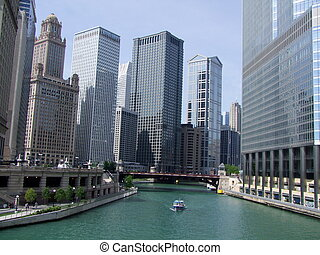 chicago., downtown.