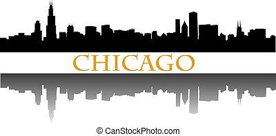 chicago, horisont