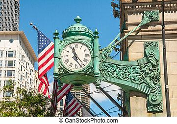 chicago, horloge