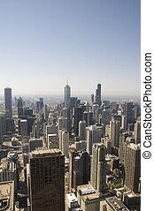 chicago, láthatár