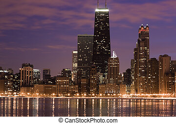 chicago, lac, travers