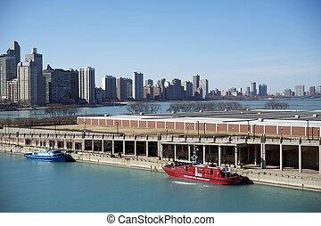 Chicago Lake Michigan Pier
